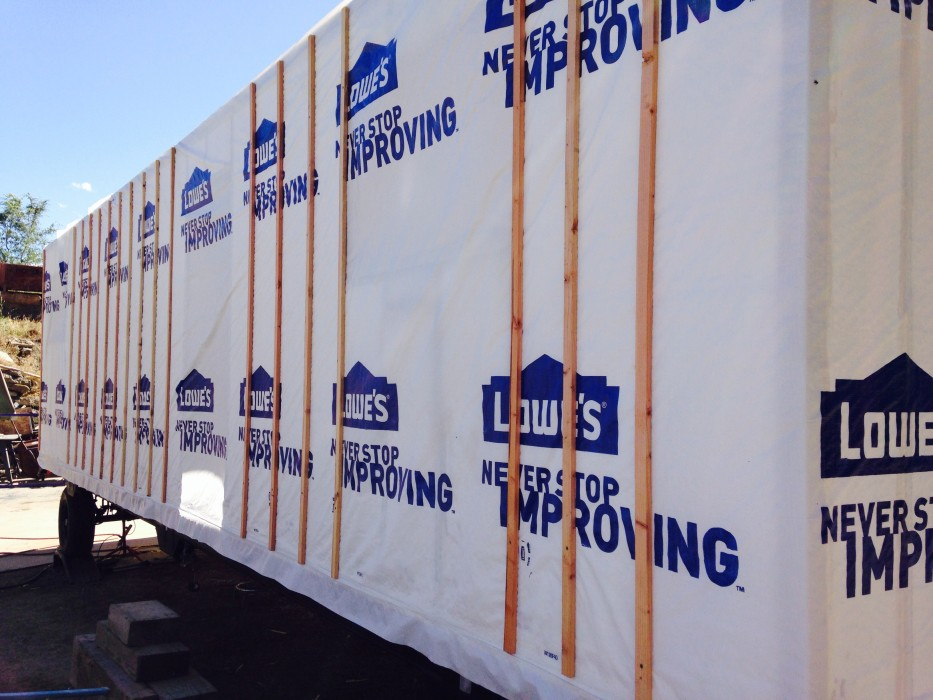 Exterior Wall Thickness Exterior Wall Thickness Exterior Big Tiny House