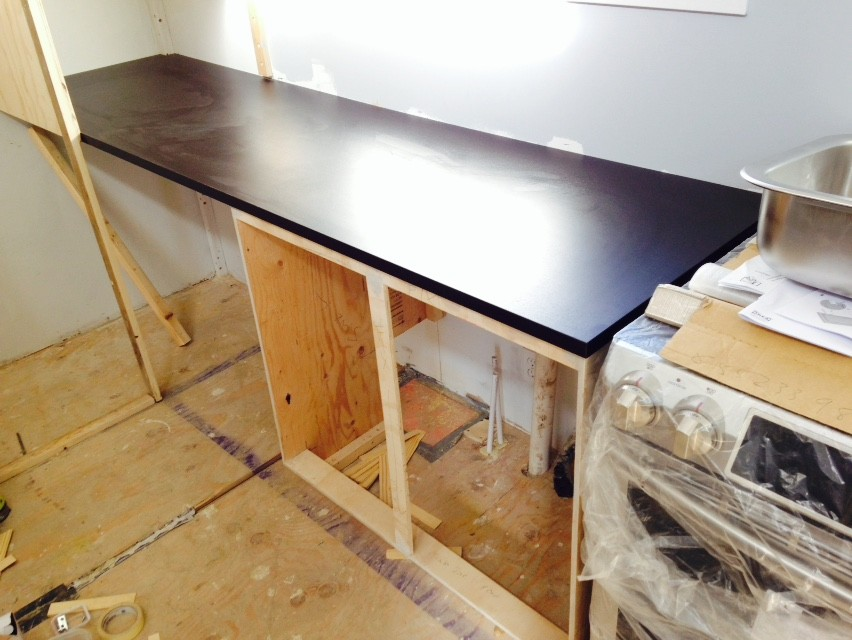 ... Kitchen Countertop Cut To Length And Installed
