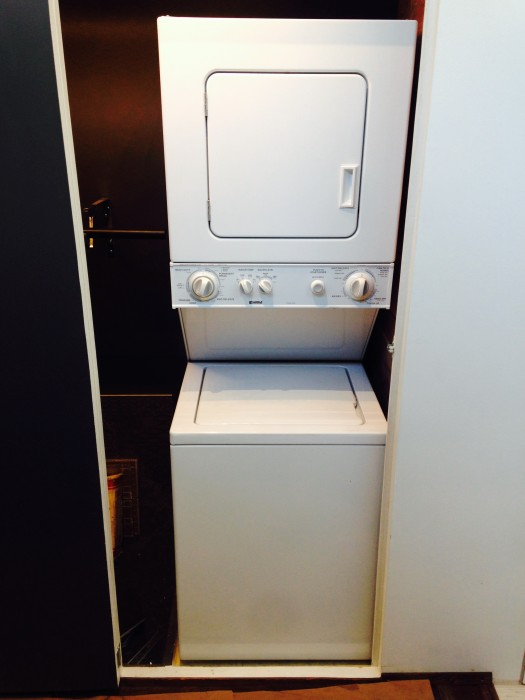 Utilities big tiny house for Tiny house stackable washer dryer