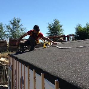 Installing Ice & Water shield on roof