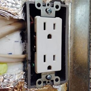 Bedroom outlet