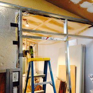 Color Scheme For Bathroom Steel Stud Support Barn Door Track