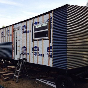 How a Rainscreen Wall System Can Help  Your Tiny House