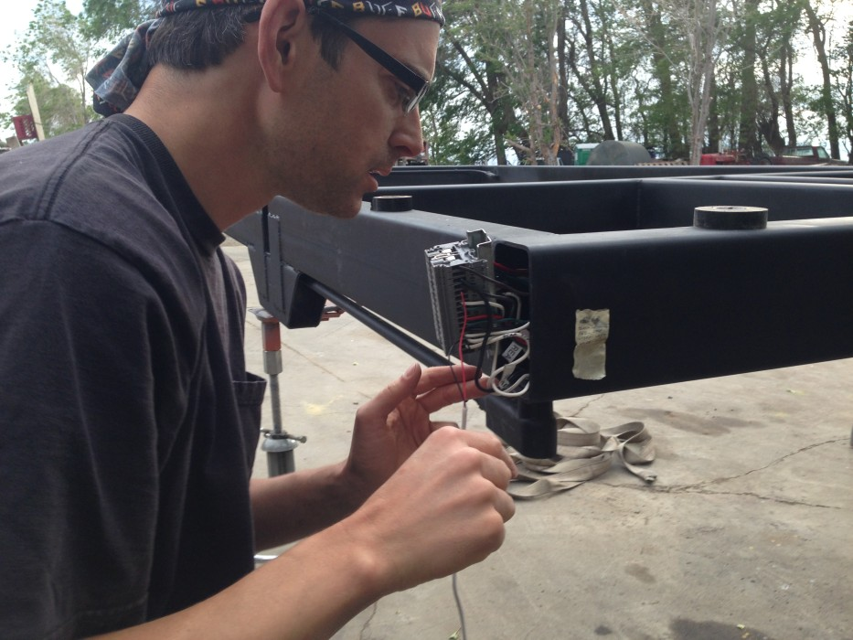 Wiring Brakes And Lights On Our Custom Tiny House Trailer