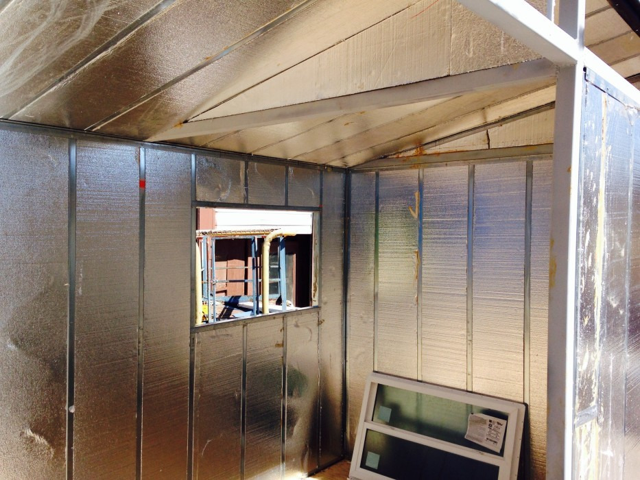 Lighting Basement Washroom Stairs: Should You Use Steel Or Wood Studs To Build Your Tiny