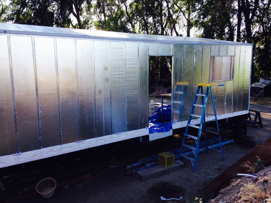Insulating Your Tiny House With Rigid Foam Panels Big
