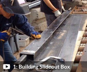 Complete Plans Package: Video #1 shows how we build the boxes and tracks for the slideout (7:30)